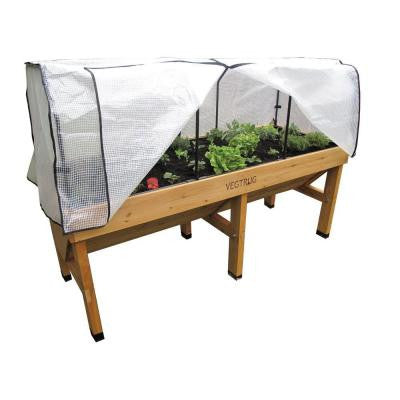 72 in. VegTrug Medium Greenhouse Frame and PE Cover