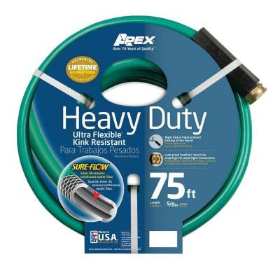 5/8 in. Dia x 75 ft. Heavy Duty Garden Hose