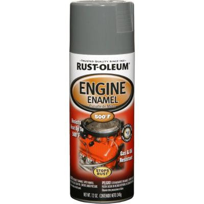 12 oz. 500° Ford Gray Engine Enamel Spray Paint (Case of 6)