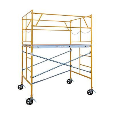 6 ft. x 7 ft. x 5 ft. Rolling Scaffold Tower 2000 lb. Load Capacity