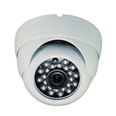 Wired Indoor/Outdoor Vandal Proof IR Dome Camera with 1000TVL Resolution and 3.6 mm Lens