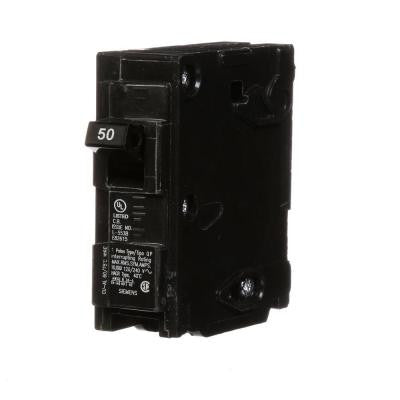 50 Amp Single-Pole Type QP Circuit Breaker