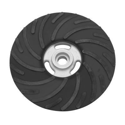 7 in. Rubber Spiral Backing Pad