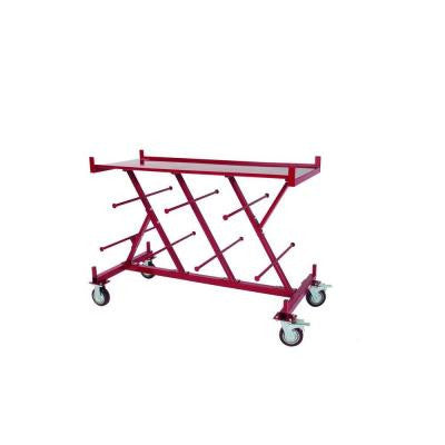 XL Conduit and Wire Cart with Portable Workbench