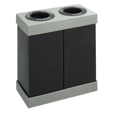 28 Gal. Double Recycling Center Receptacle