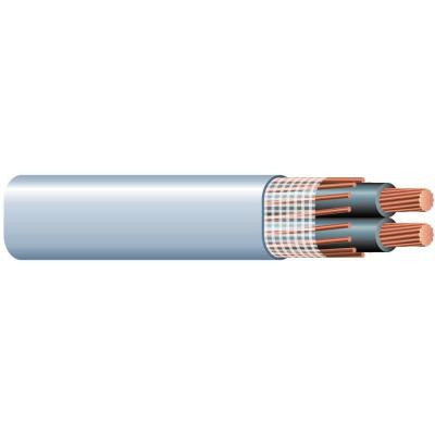50 ft. 2/0-2/0-2/0 Copper SEU Service Entry Electrical Cable - Grey
