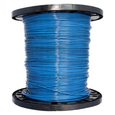 2500 ft. 14 Stranded THHN Wire - Blue