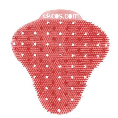 Melon Fragrance Anti-Splash Red Urinal Screen (12 per Box)