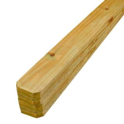 5/8 in. x 5-1/2 in. x 6 ft. Pressure-Treated Wood Pine Dog-Eared Picket (10-Pack)