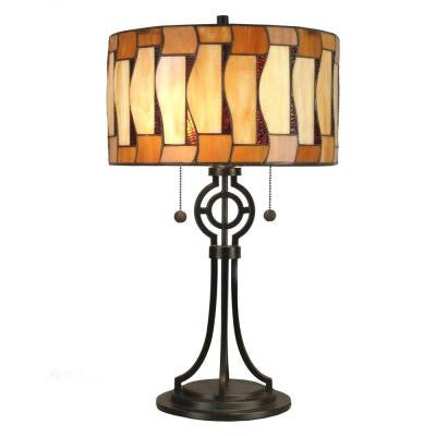 24 in. Addison Dark Antique Bronze Table Lamp