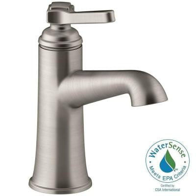 Georgeson Single Hole Single Handle Bathroom Faucet in Vibrant Brushed Nickel