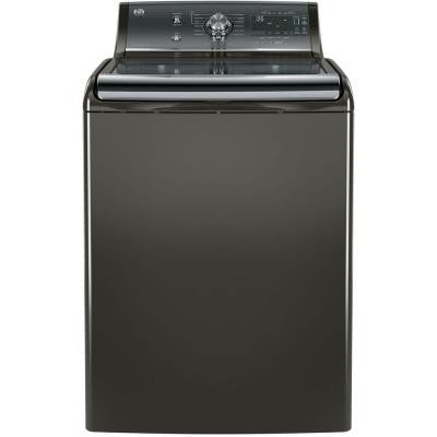 5.1 cu. ft. High-Efficiency Top Load Washer with Steam in Metallic Carbon, ENERGY STAR