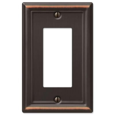 Chelsea 1 Decora Wall Plate - Aged Bronze