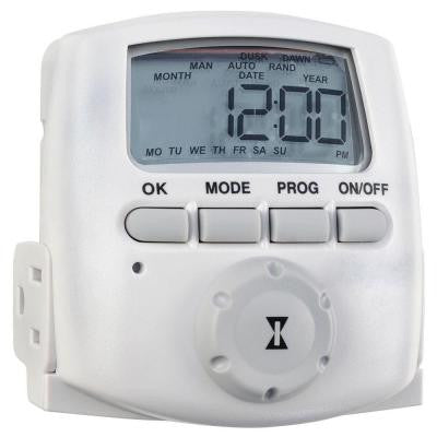 15-Amp Heavy Duty Plug-In Digital Timer