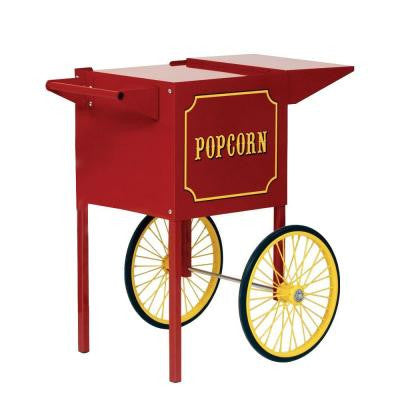 Small Popcorn Cart in Red