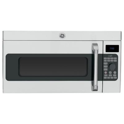Cafe 1.7 cu. ft. Over the Range Convection Microwave in Stainless Steel
