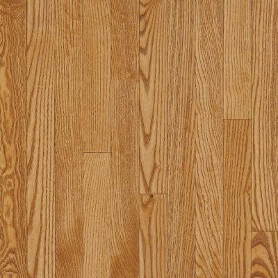 American Originals Spice Tan White Oak 3/4 in. T x 3-1/4 in. x W x Random L Solid Hardwood Flooring (22 sq. ft. / case)