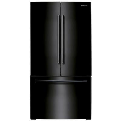 25.5 cu. ft. French Door Refrigerator in Black
