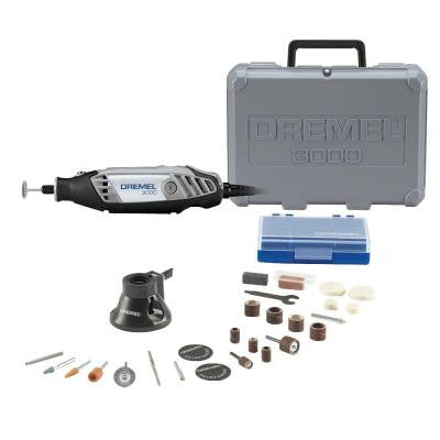 3000 Series 120-Volt Corded Variable Speed Rotary Tool Kit