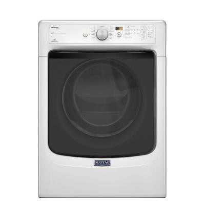 Maxima 7.4 cu. ft. Electric Dryer with Steam in White, ENERGY STAR