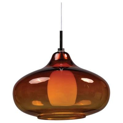 Coit 1-Light Polished Chrome Xenon Ceiling Pendant