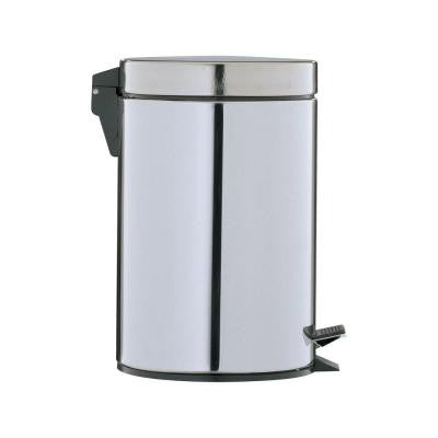 0.75 gal. Stainless Steel Step-On Touchless Trash Can