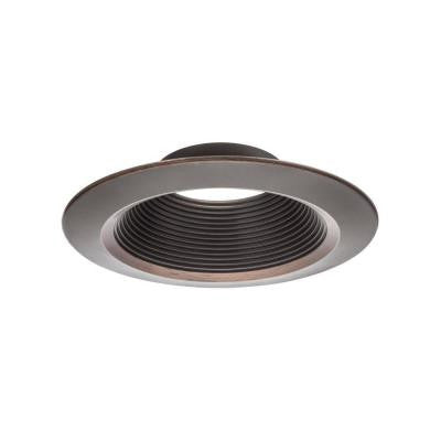 6 in. Oil Rubbed Bronze Downlighting Trim