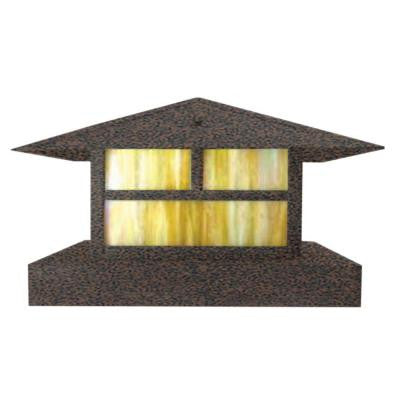 Centennial 1-Light Outdoor LED Weathered Brown Area Light