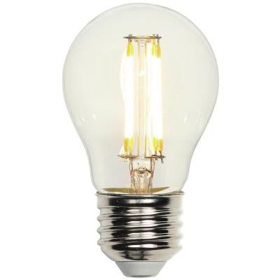 40W Equivalent Soft White A15 Medium Base Dimmable Filament LED Light Bulb