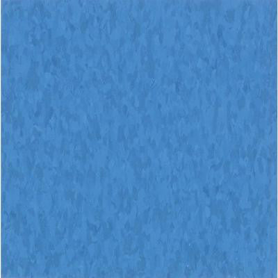 Imperial Texture VCT 12 in. x 12 in. Bodacious Blue Commercial Vinyl Tile (45 sq. ft. / case)