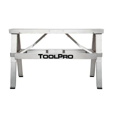18 in. to 30 in. Adjustable Height Aluminum Collapsible Step-Up Bench