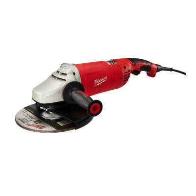 15-Amp 7/9 in. Roto-Lok Large Angle Grinder with Trigger Lock-On Switch