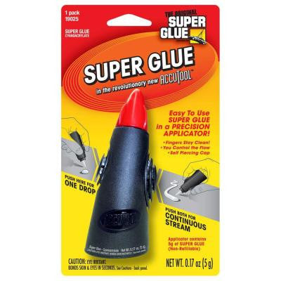 .17 oz. Glue Accutool Precision Applicator (12-Pack)