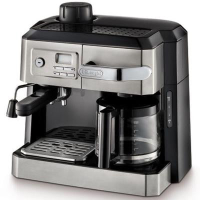 10-Cup Combination Drip Coffee and Espresso Machine in Stainless Steel