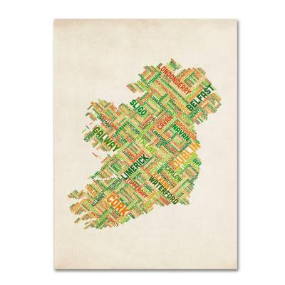 19 in. x 14 in. Ireland I Canvas Art