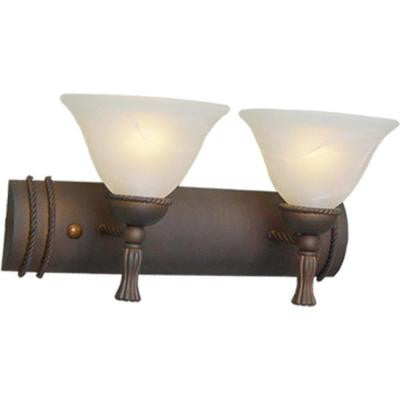 2-Light Italian Dusk Bath and Vanity Light