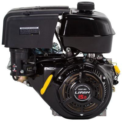 1 in. 15 HP 420 cc OHV Electric Start Horizontal Keyway Shaft Engine