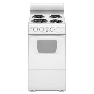 2.6 cu. ft. Electric Range in White