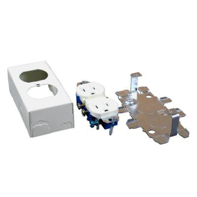 500 and 700 Series 1-Gang Duplex Grounding Receptacle Box