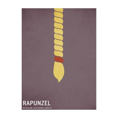 24 in. x 36 in. Rapunzel Canvas Art