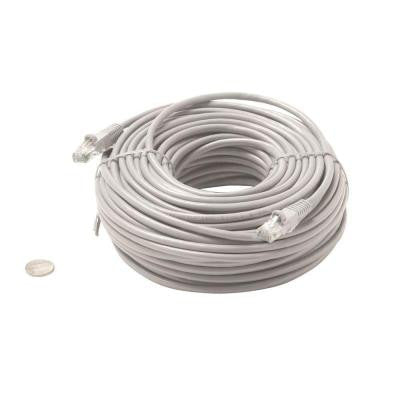 14 ft. Molded Cat5E UTP Patch Cord - Grey