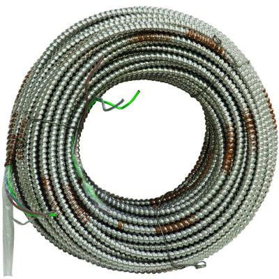 MC Lite 250 ft. 12-Gauge 2 Conductor Cable 277/480