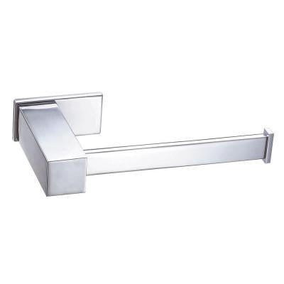 Sirius Dual Function Toilet Paper Holder or Towel Bar in Chrome
