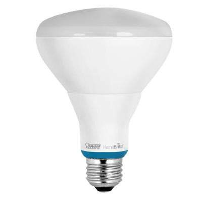 65W Equivalent Soft White BR30 Dimmable HomeBrite Bluetooth Smart LED Light Bulb