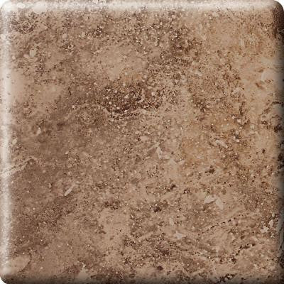 Heathland Edgewood 6 in. x 6 in. Glazed Ceramic Bullnose Corner Wall Tile