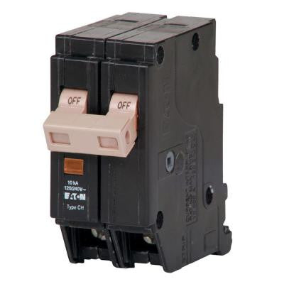 15-Amp 1.5 in. Double Pole Type CHF Breaker