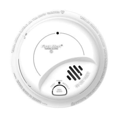Battery Operated 120-Volt AC Smoke Alarm with Lithium Battery Backup