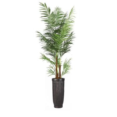 97 in. Tall Areca Palm Tree in Planter