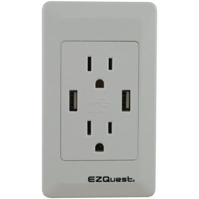 Plug n' Charge USB Wall Socket
