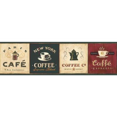 6.75 in. Coffee Signs Border